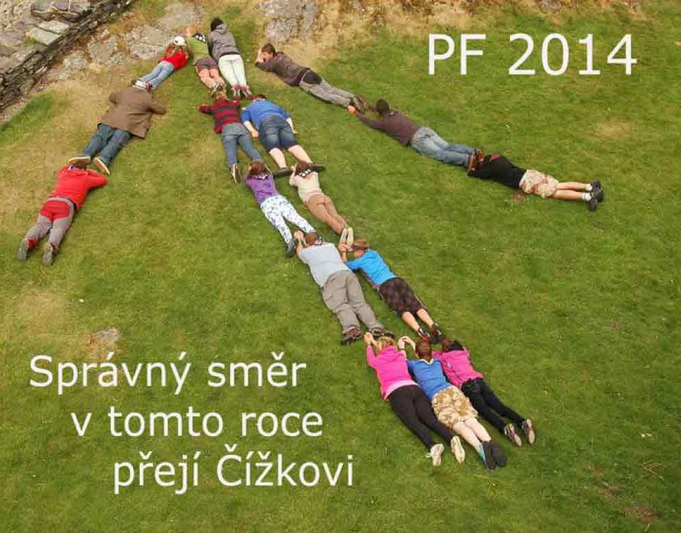 """Fotorevue 270 – """"Pour féliciter 2014 – pro štěstí"""" (M-Z)"""