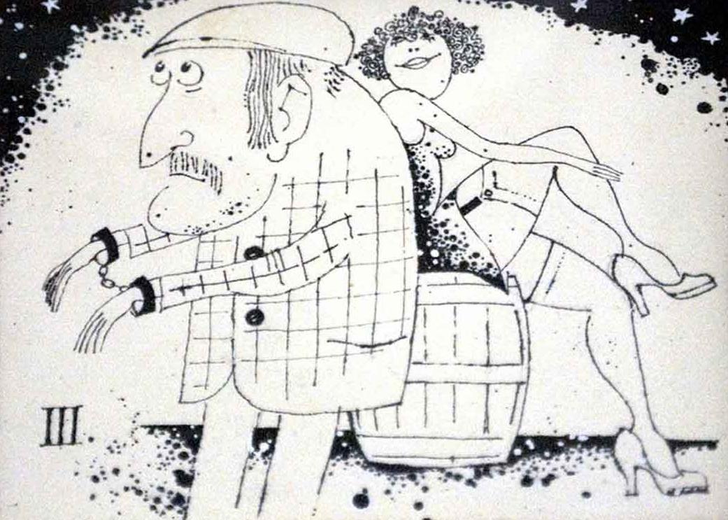 """Fotorevue 151 –  Jiří Suchý """"Kresby a litografie"""""""