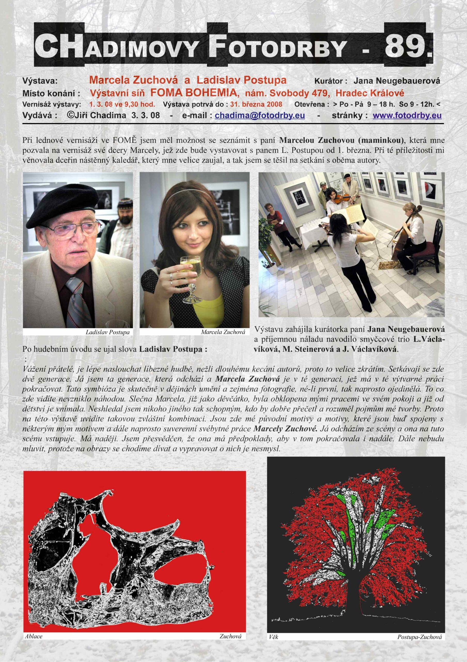 Fotorevue 89 – Marcela Zuchová a Ladislav Postupa