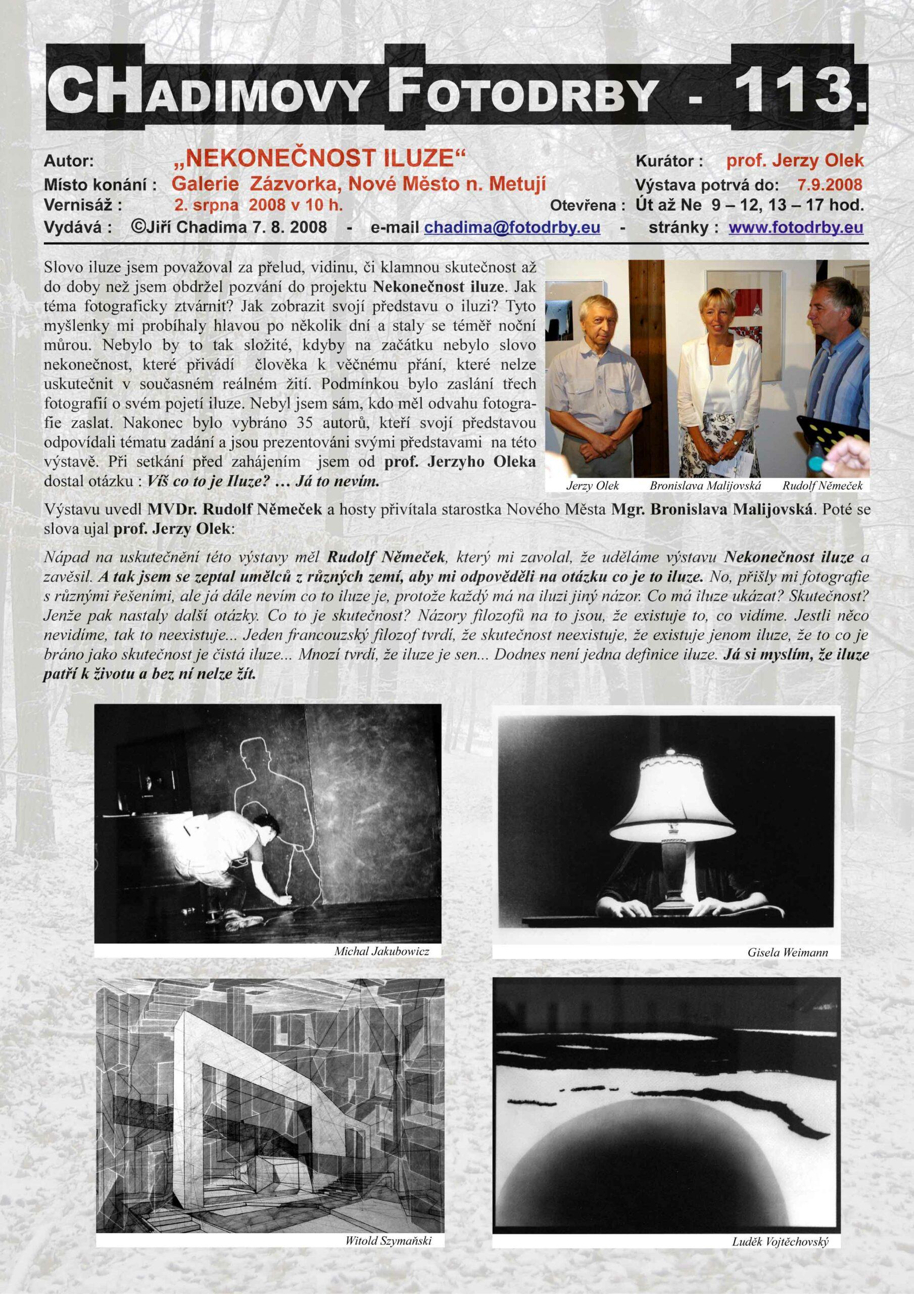 """Fotorevue 113 – """"Nekonečnost iluze"""""""