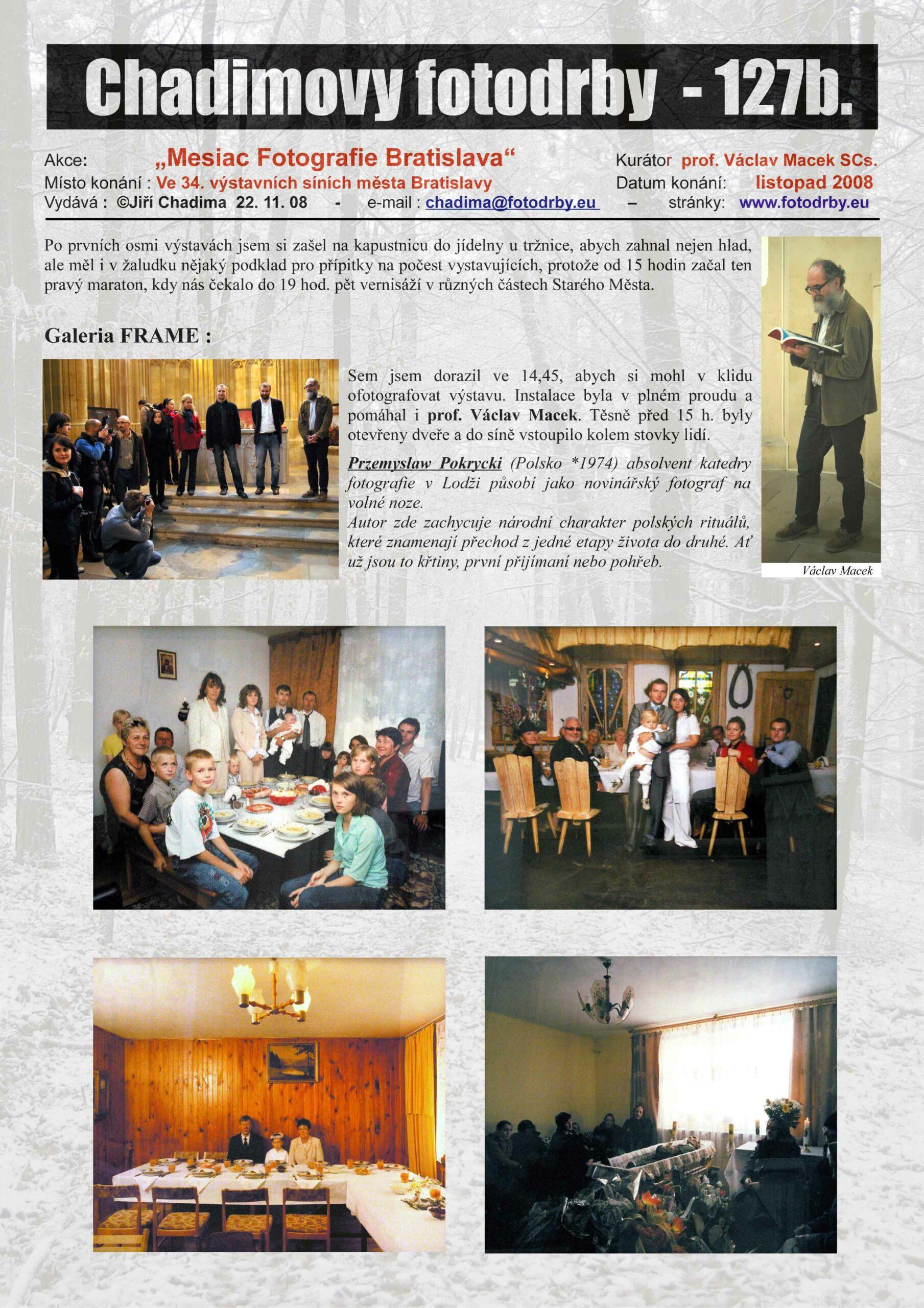 "Fotorevue 127b – ""Mesiac Fotografie (2008) Bratislava"""