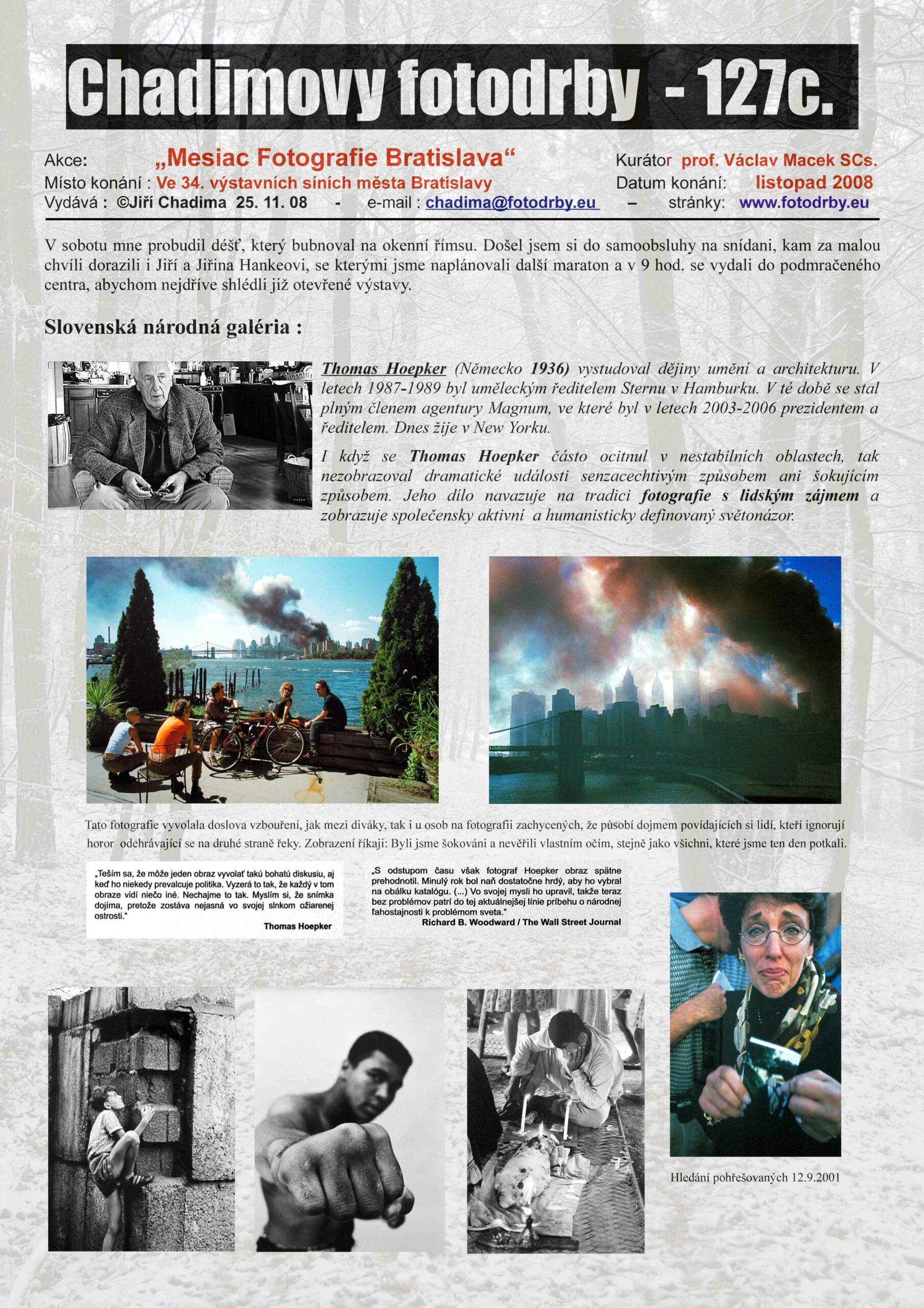 "Fotorevue 127c – ""Mesiac Fotografie (2008) Bratislava"""
