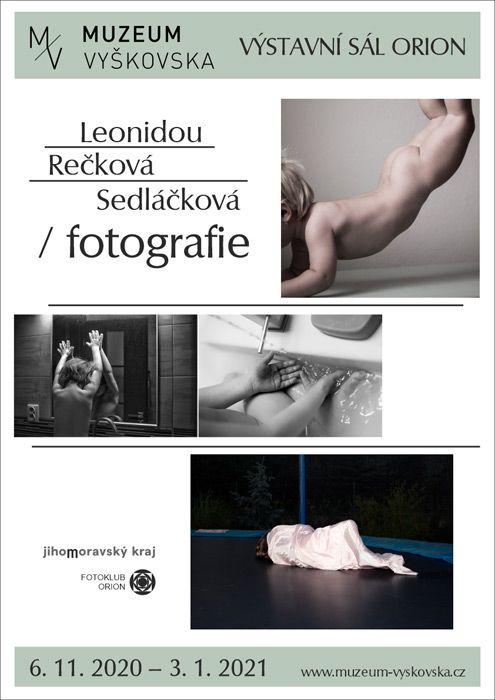 Leonidou Rečková Sedláčková /fotografie/