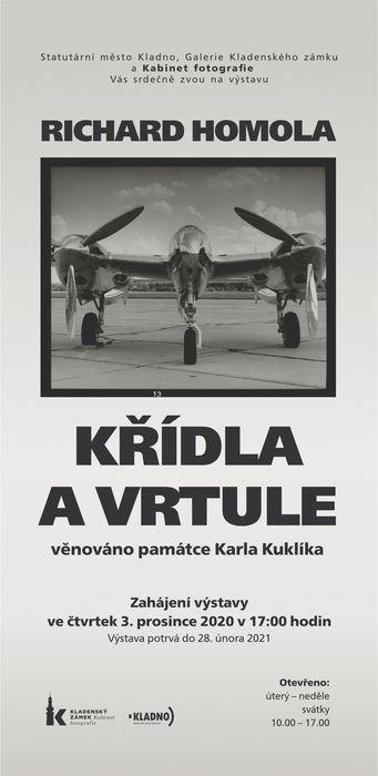 "Richard Homola ""Křídla a vrtule"""