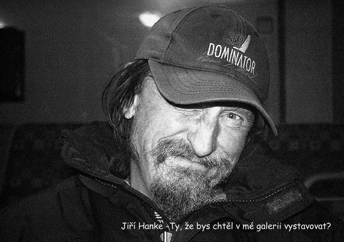 """Fotorevue 400 – Jiří Chadima """"Portréty osobností z vernisáží a hospod"""""""