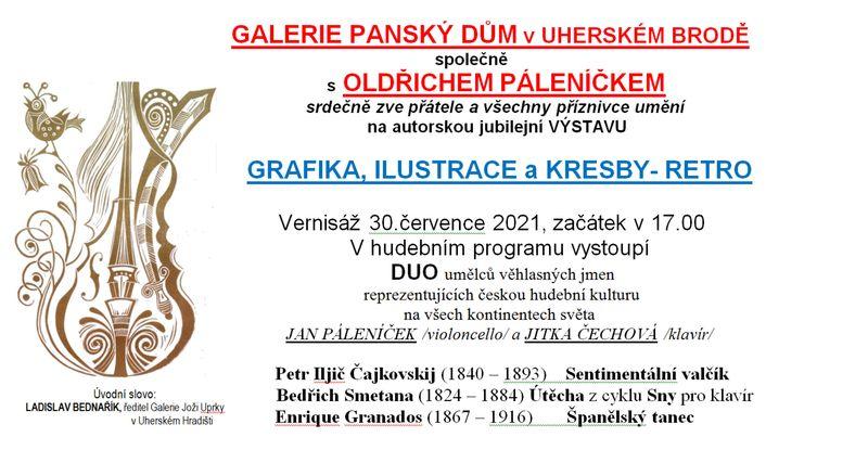 Oldřich Páleníček – Grafika, Ilustrace a Kresby