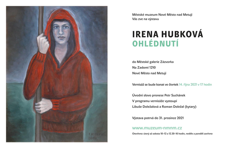 """Irena Hubková """"Ohlédnutí"""""""